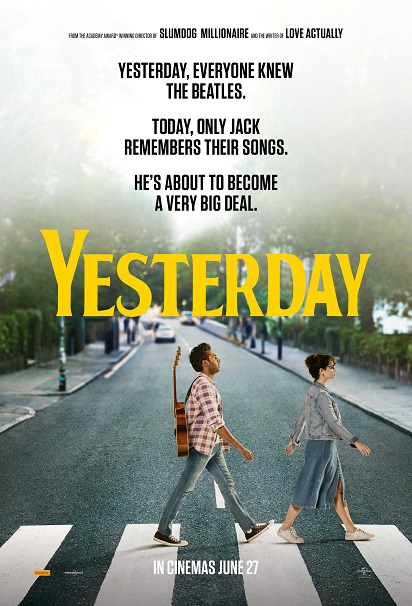 Yesterday poster Danny Boyle Richard Curtis