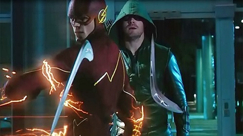 Crimson Comet #9 The Flash 1x08 Flash vs. Arrow & Arrow 3x08 The Brave and the Bold