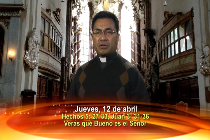 Artwork for Dios te Habla con Fr. Beni Leu, SVD; Tema el hoy: Haz la Prueba y Verás Qué Bueno es el Señor. Aleluya.