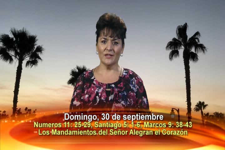 Artwork for Dios te Habla con Leticia Diaz; Tema el hoy: Los mandamientos del Señor alegran el corazón.