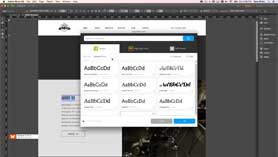 Adobe Muse CC 2015 - NEW Typekit Font Integration