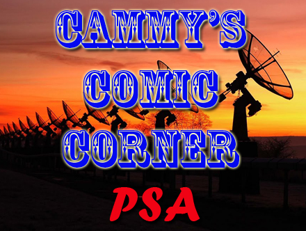 Cammy's Comic Corner - Public Service Announcement