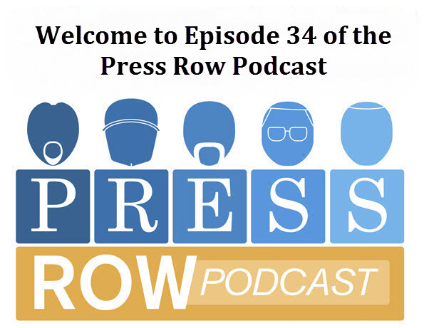 Operation Sports - Press Row Podcast: Episode 34