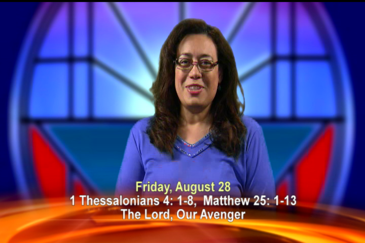 Artwork for Friday, August 28th Today's Topic: The LORD, our Avenger