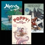Artwork for Young Readers: Reviews of Musnet, Bird Boy Vol. 1, and Poppy! and the Lost Lagoon