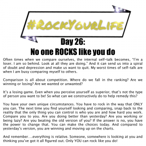 DAY 26 #RockYourLife