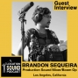 Artwork for 093 Brandon Sequeira - Production Sound Mixer and Boom Op based out of Los Angeles, CA