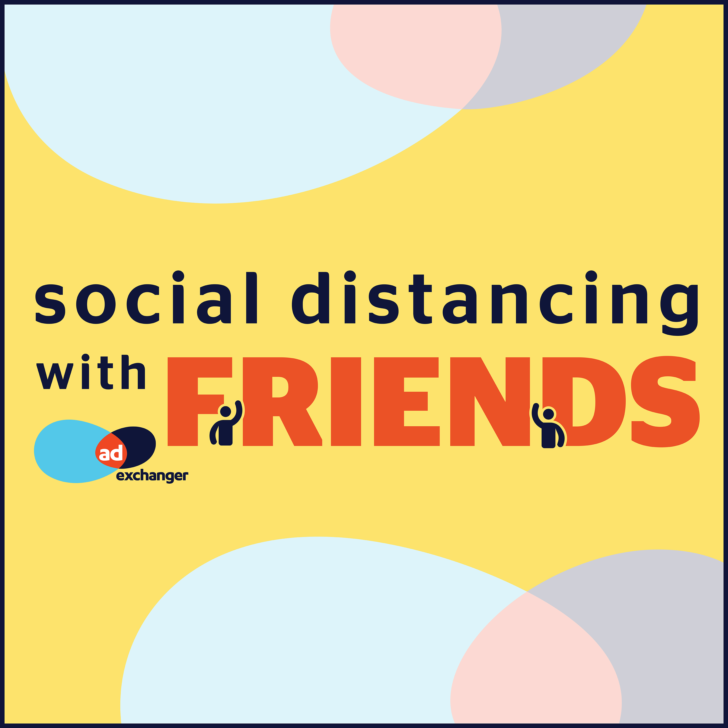 Social Distancing With Friends show art