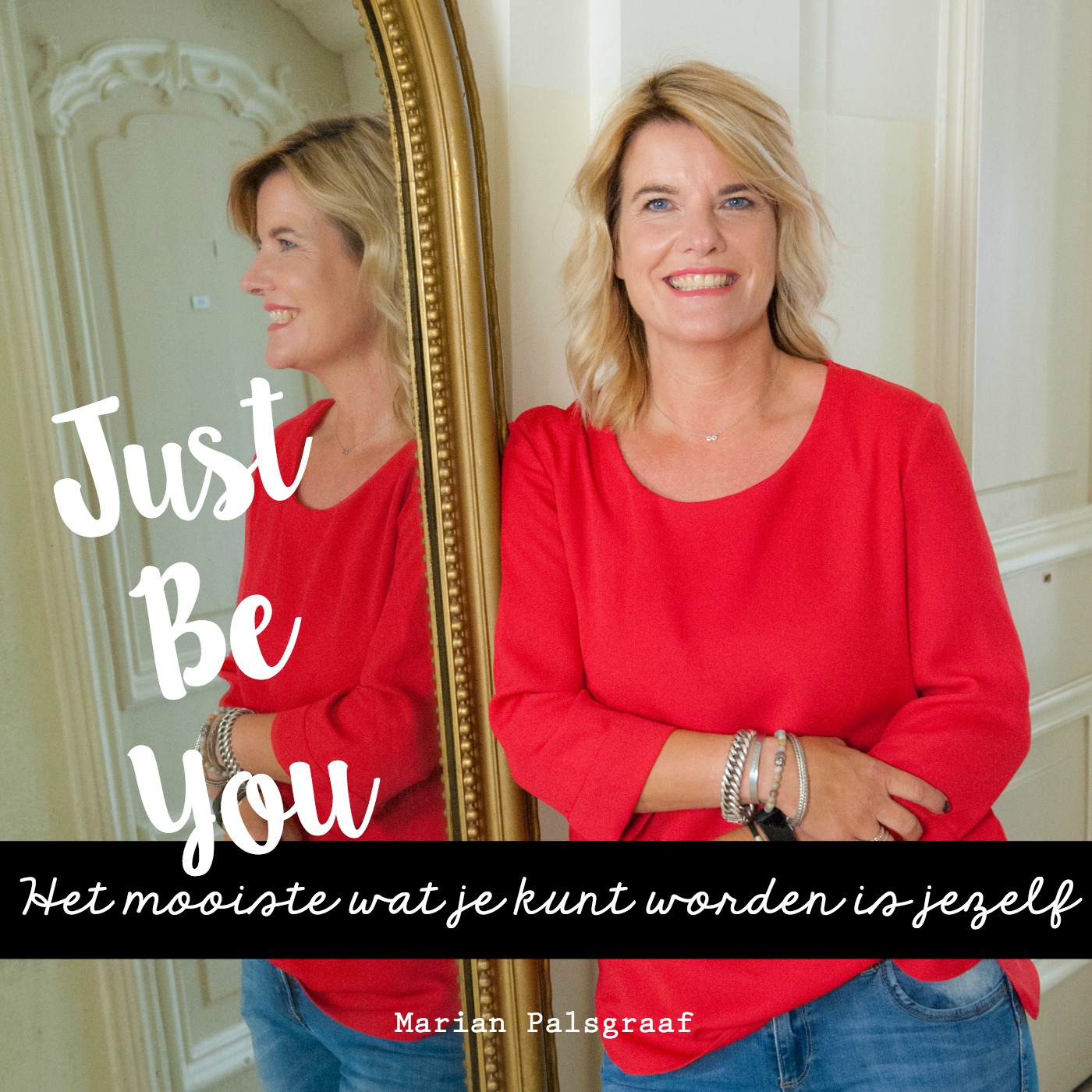 Just Be You Podcast show art
