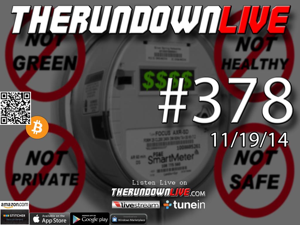 The Rundown Live #378 Charyl Zehfus & Catherine Kleiber (Smart Meters,RF,Health)