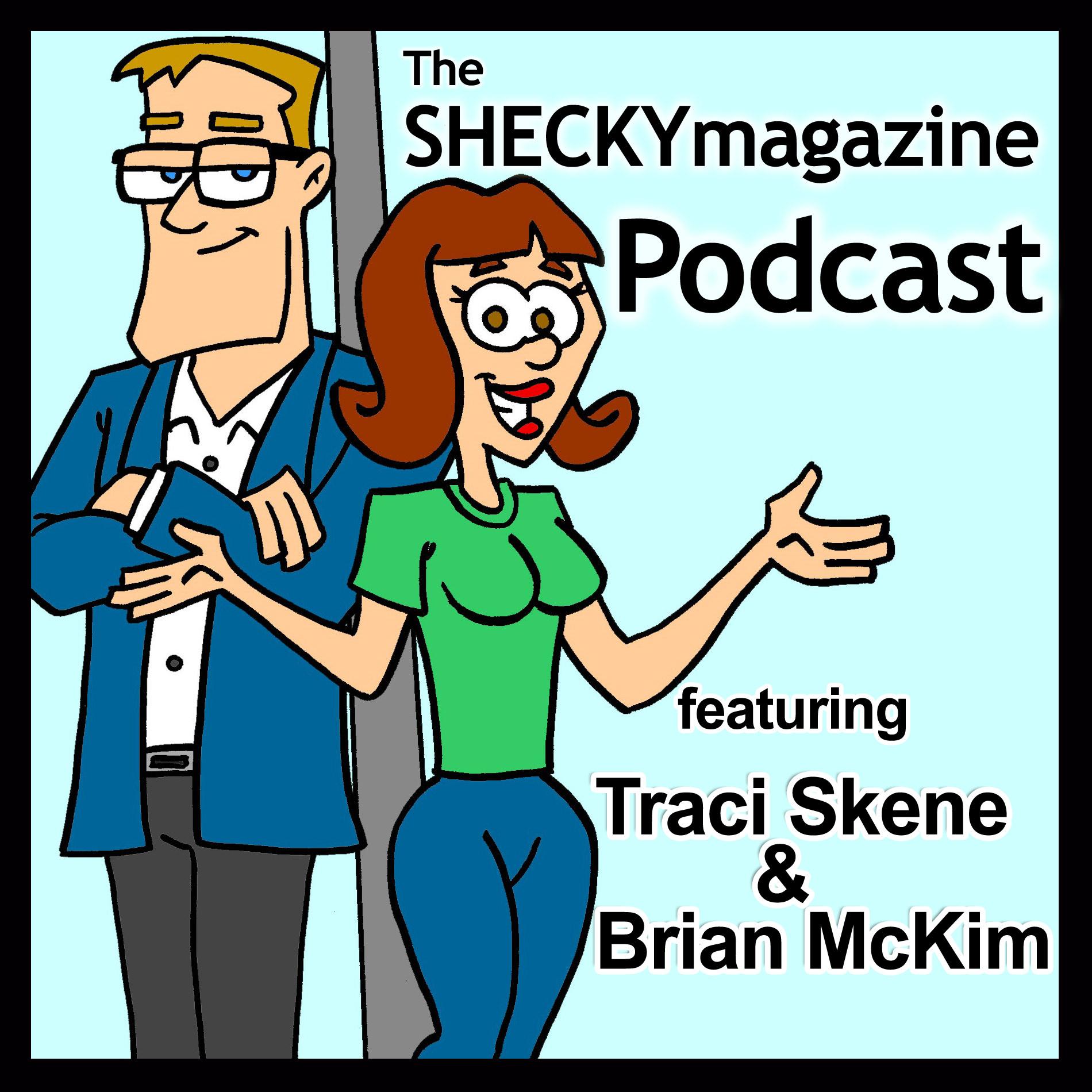 The SHECKYmagazine Podcast show art