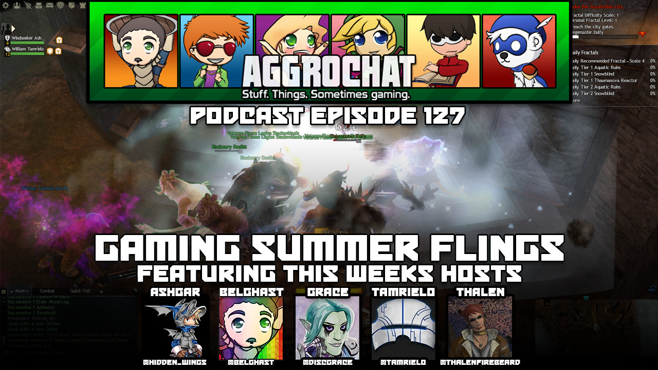 AggroChat #127 - Gaming Summer Flings