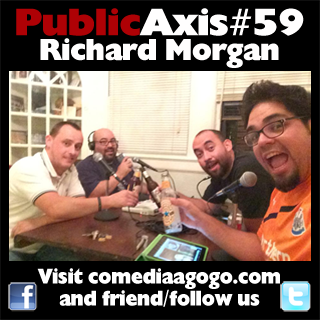 Public Axis #59: Richard Morgan