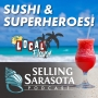 Artwork for Sushi and Superheroes