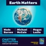 Artwork for EARTH MATTERS. Three who are making a difference