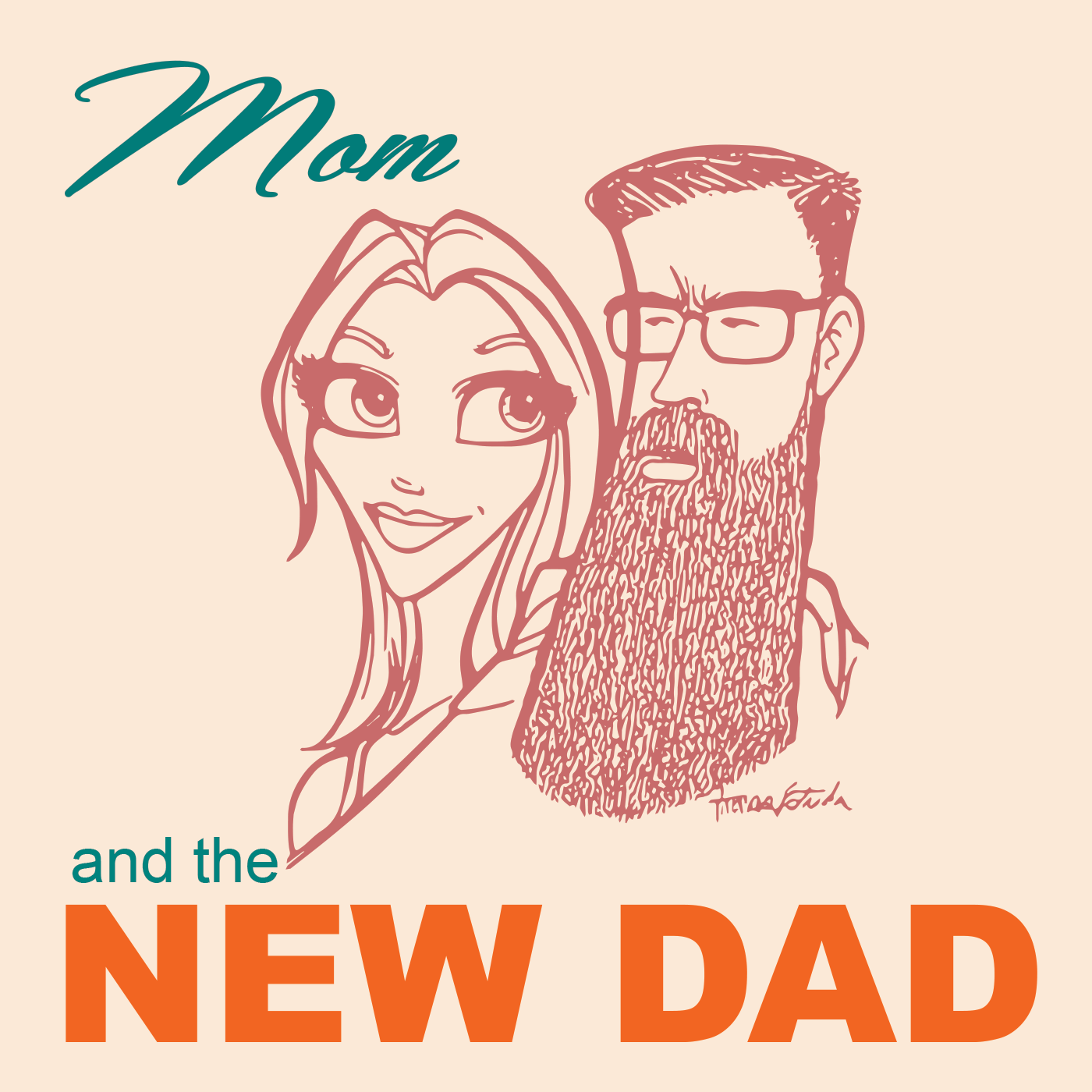 Artwork for #1 - Meet Mom and The New Dad