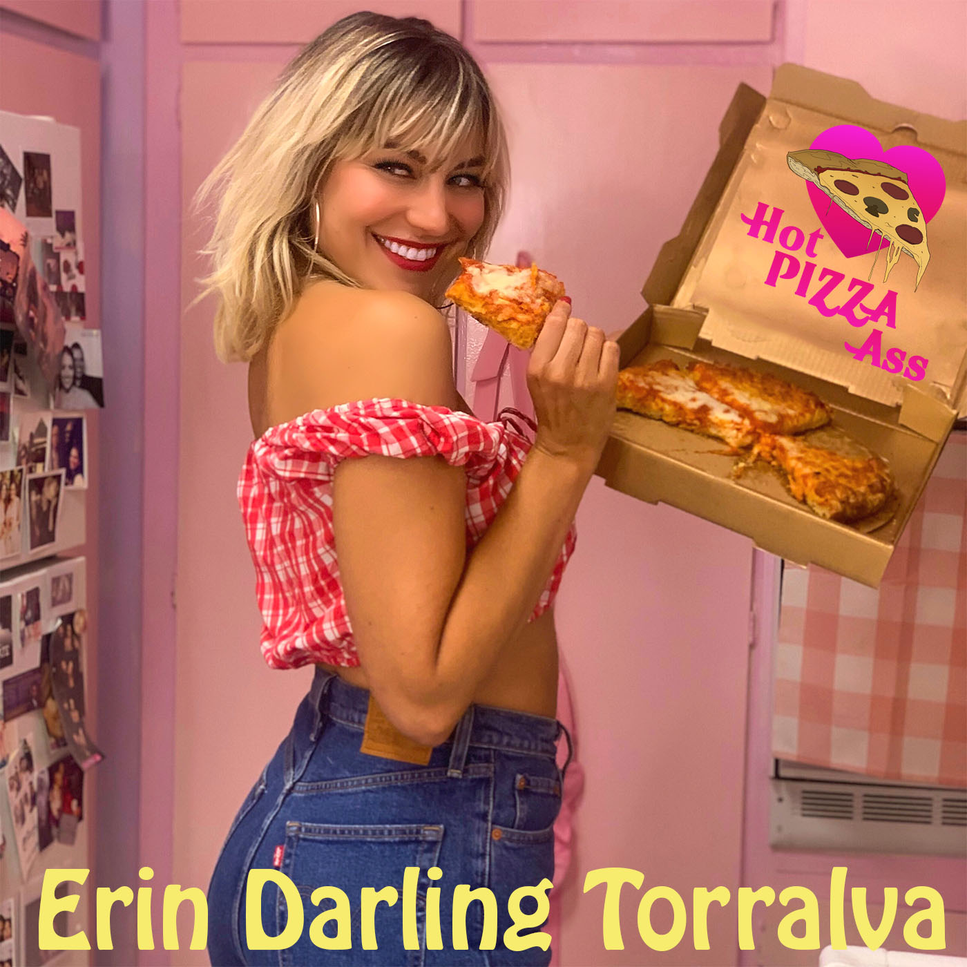 Artwork for Coronavirus Questions Answered by an Epidemiologist - Quarantine TV on Hot Pizza Ass