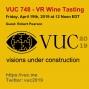 Artwork for VUC748 - VR Wine Tasting