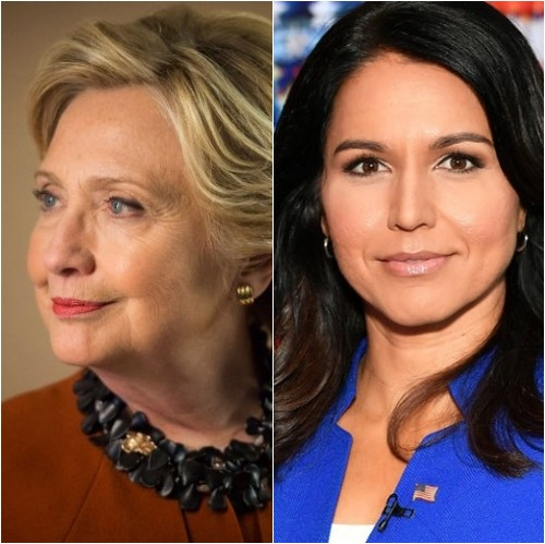 16 Hillary Clinton and Tulsi Gabbard Slapfight - Featuring: Justin Robert Young