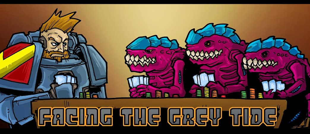Facing the Grey Tide Podcast - Episode 10: SpikeyCon and Quick Army List Building
