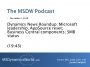 Artwork for MSDW Podcast: Microsoft Dynamics news roundup, 2 December 2018