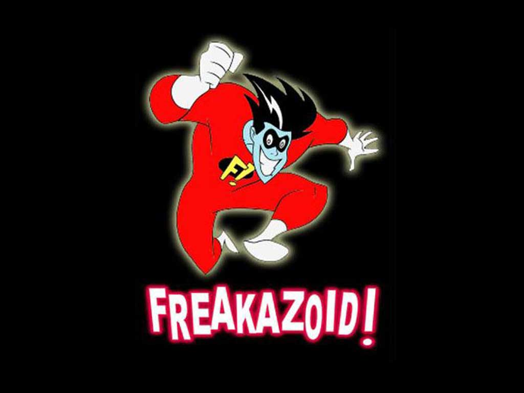 Back in Toons-Freakazoid