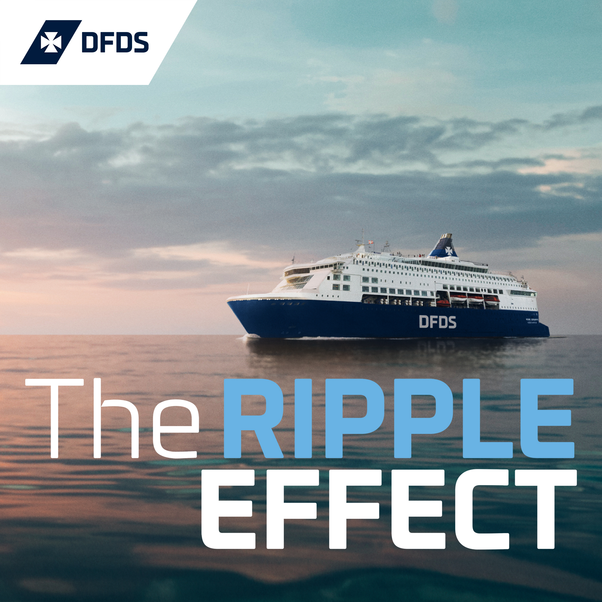 Ripple Effect: A Maritime Podcast by DFDS show art