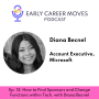 Artwork for How I Found Sponsors and Changed Jobs within Microsoft, with Diana Becnel