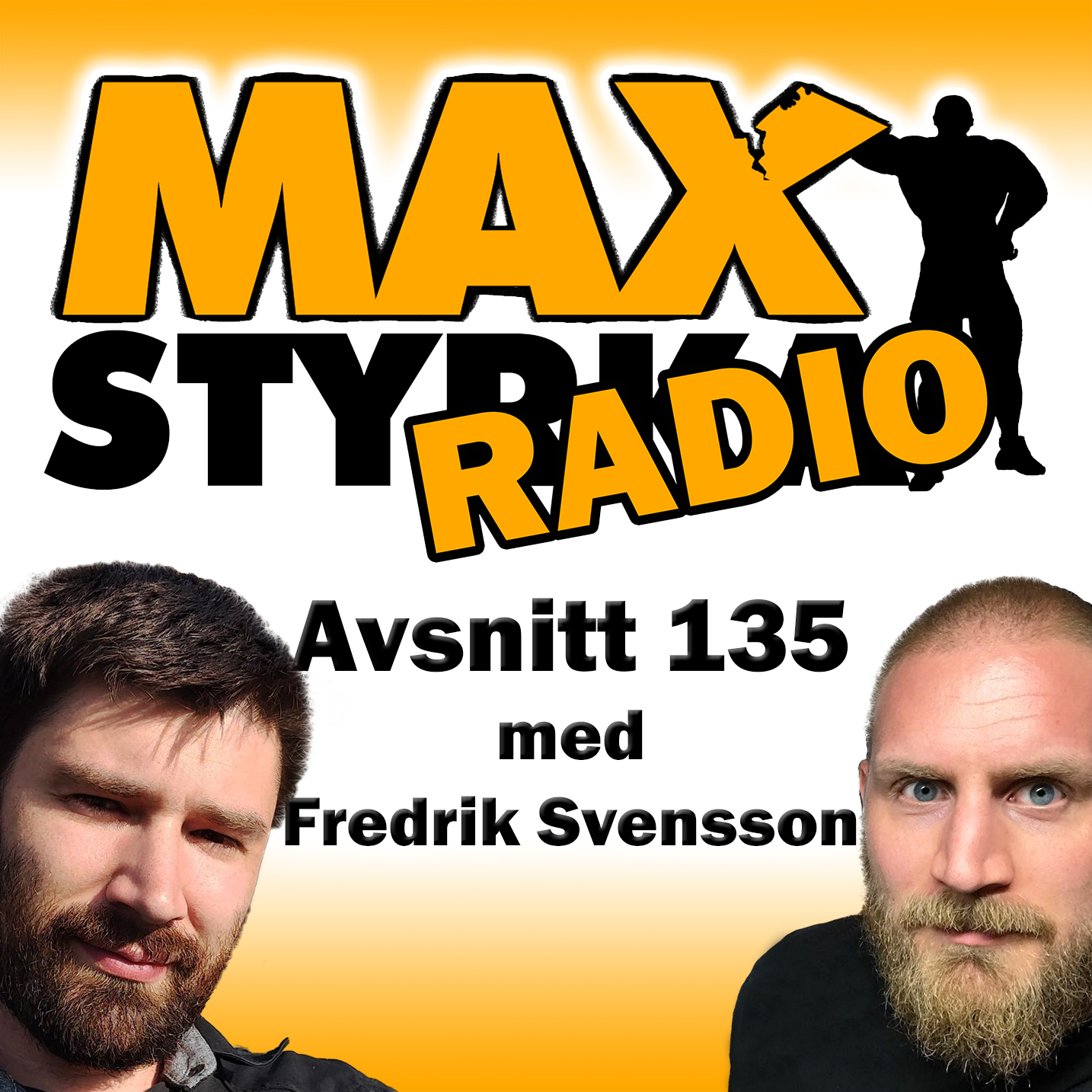 Avsnitt 135 - Fredrik Svensson show art