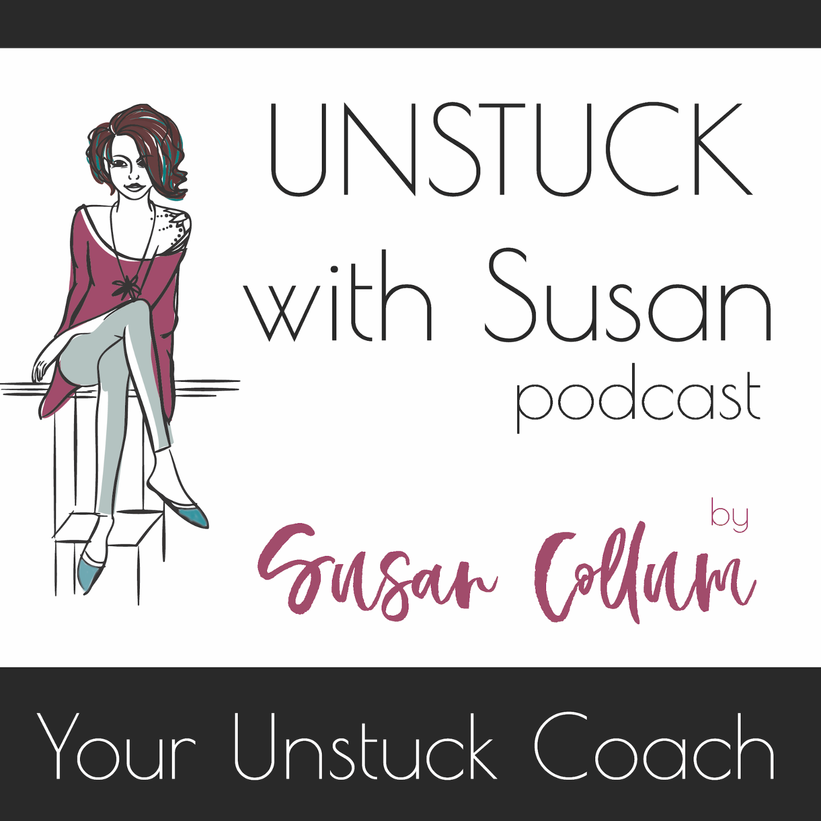 Unstuck with Susan show art