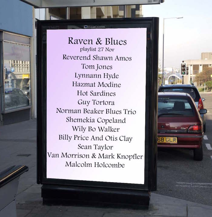 Raven and Blues 27 Nov 2015