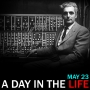 """Artwork for Robert Moog's Birthday: """"A Day in the Life"""" for May 23"""