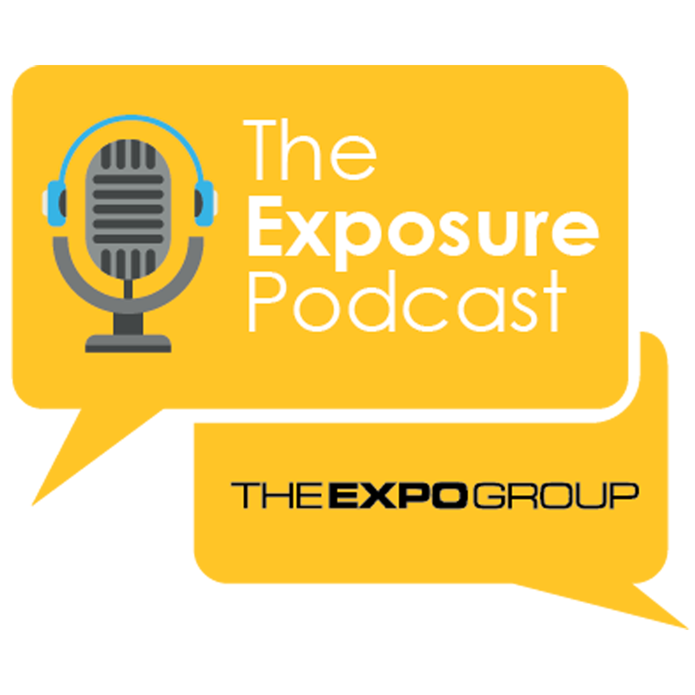 The Exposure Podcast by The Expo Group show art