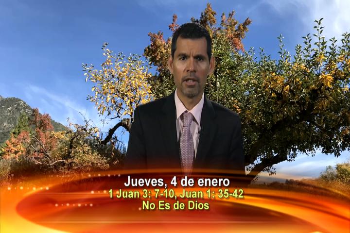 Artwork for Dios te Habla con Jose Luis Elias; Todo aquel que no practica la santidad, no es de Dios; tampoco es de Dios el que no ama a su hermano.