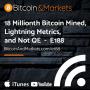 Artwork for 18 Millionth Bitcoin Mined, Lightning Metrics and Not QE - E188