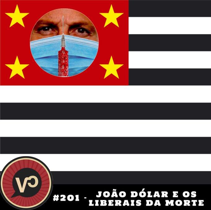 #201 - João Dólar e os Liberais da Morte - com Vitor Santi e Tucho