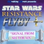 """Artwork for Star Wars Resistance Flyby:  """"Signal From Sector Six"""""""