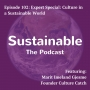 Artwork for 102: Expert Special: Culture in a Sustainable World with Marit Imeland Gjesme, Founder Culture Catch