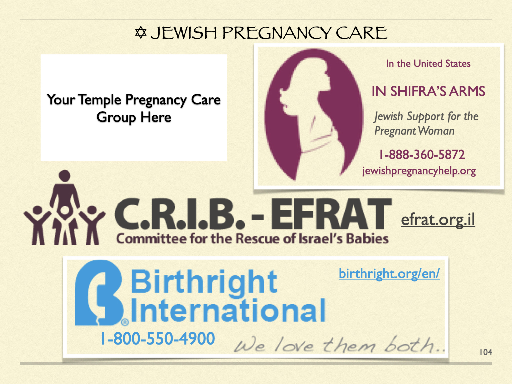 Jewish Pregnancy Care