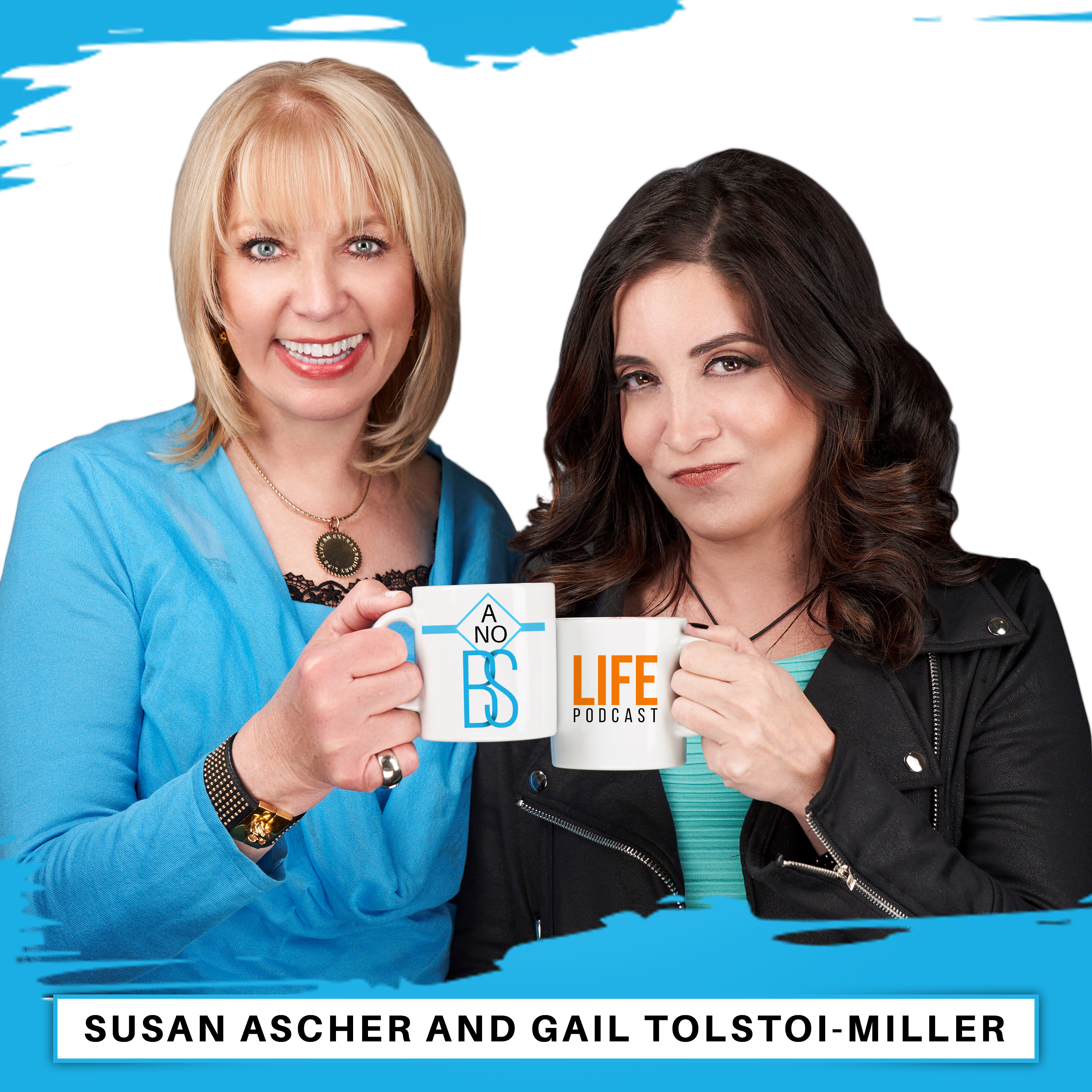 Artwork for A No BS Life Podcast Intro with Gail Tolstoi-Miller & Susan Ascher