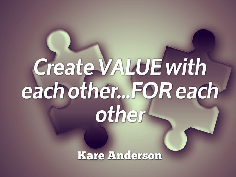 """Attract Smarter Support Sooner"" with Kare Anderson"
