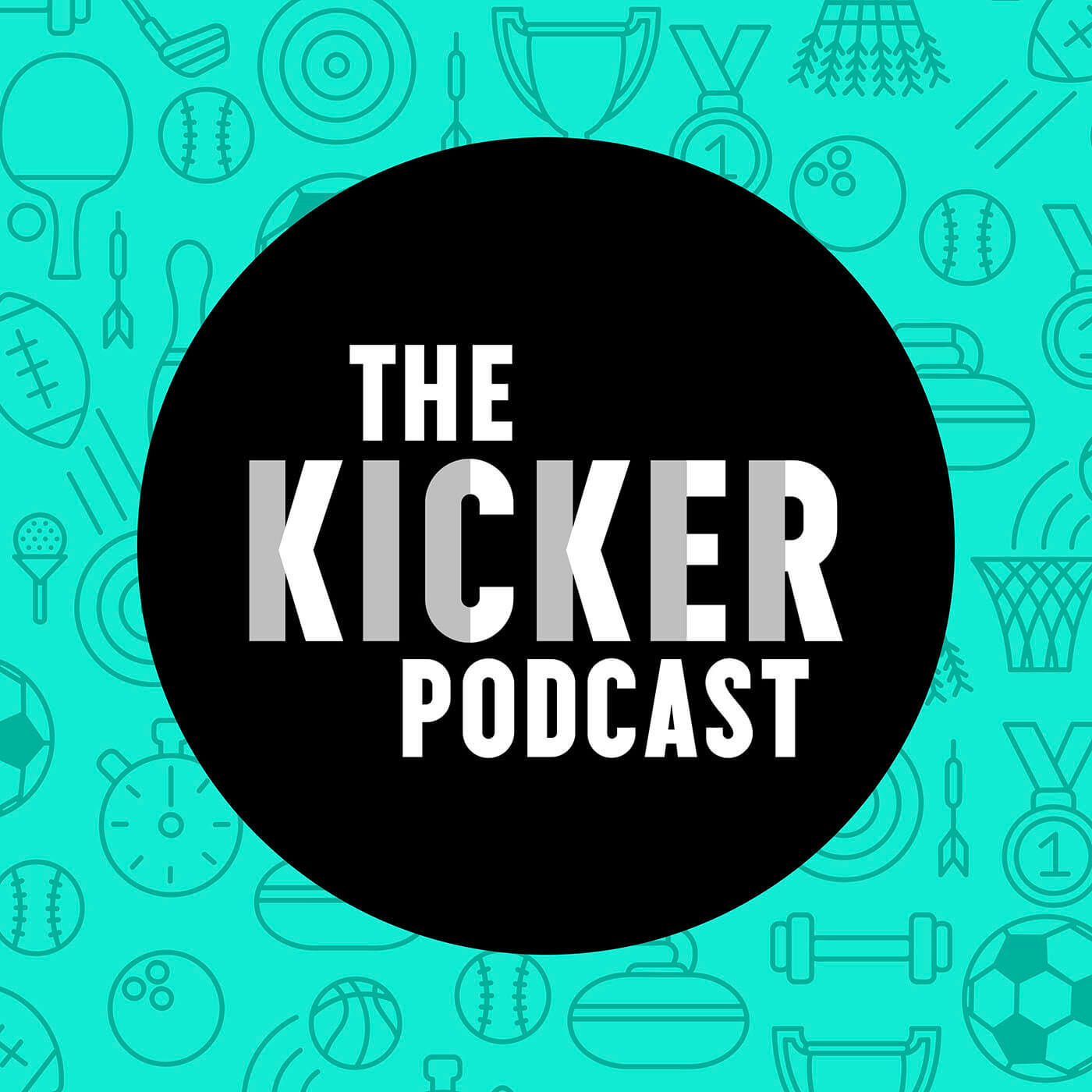 The Kicker Podcast: A Sports - Comedy Show logo