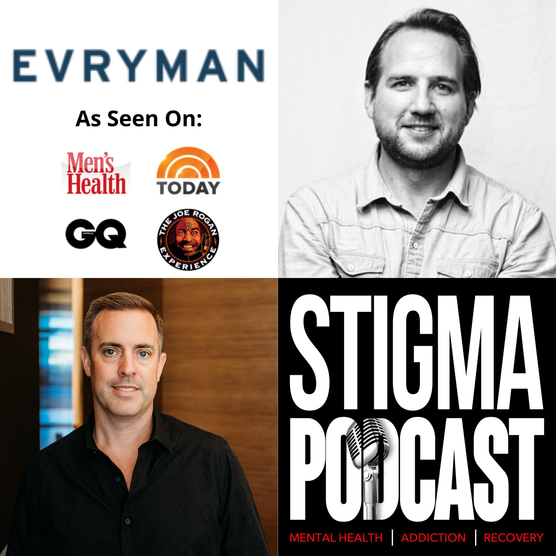 Stigma Podcast - Mental Health - #39 - Men's Mental Health with EVRYMAN Founder Lucas Krump