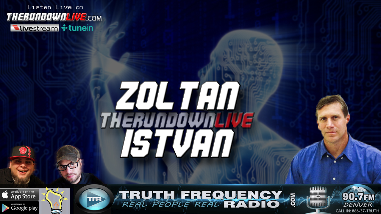The Rundown Live #563 Zoltan Istvan (Transhumanism,Policy,Health Aspect)