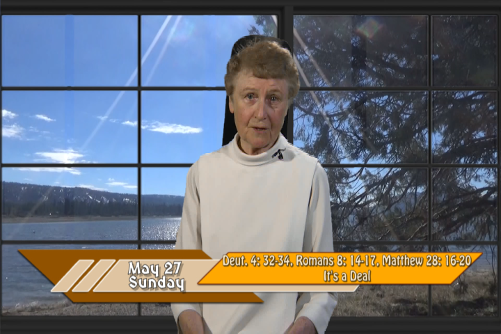 Artwork for iGod Today with Sr. Jeanne Harris, OP;  Today's topic:   It's a deal