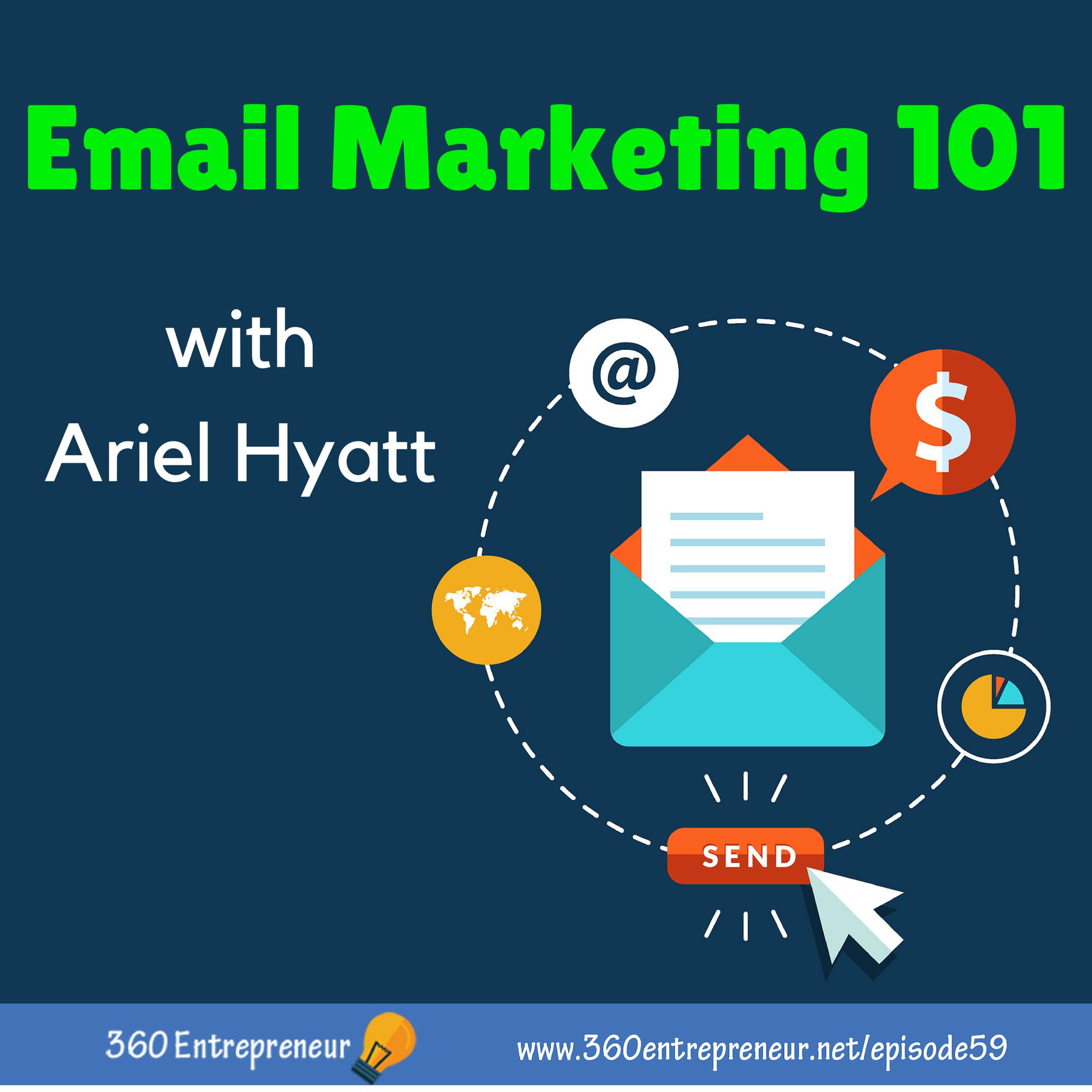 Artwork for TSE 059: Email Marketing 101 w/ Ariel Hyatt