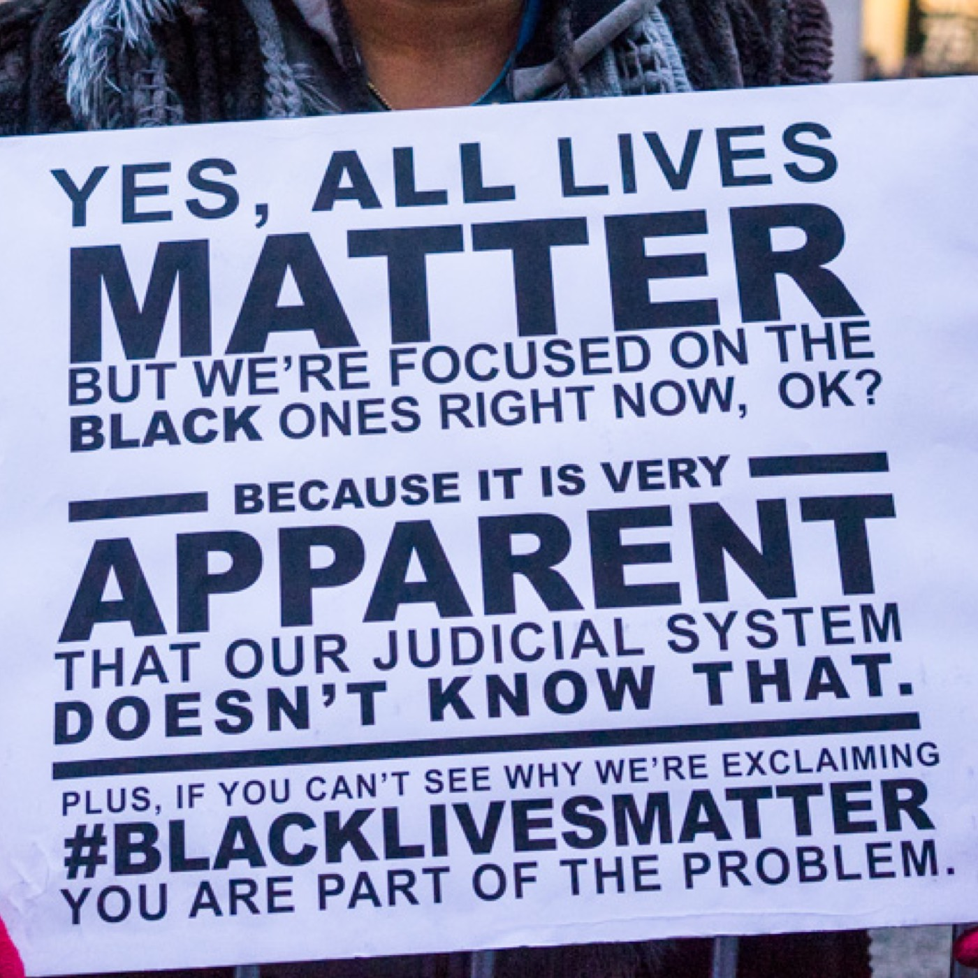 (2015/04/21) A fight for survival (#BlackLivesMatter)