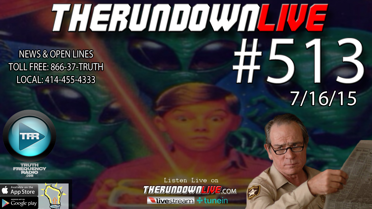 The Rundown Live #513 (Jade Helm,Alternative Media,Internet License)