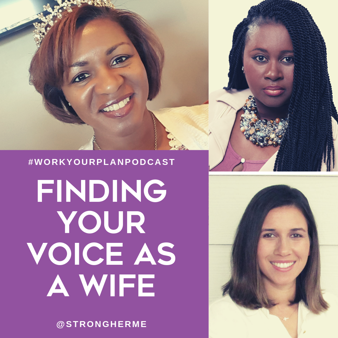 finding your voices as a wife podcast image