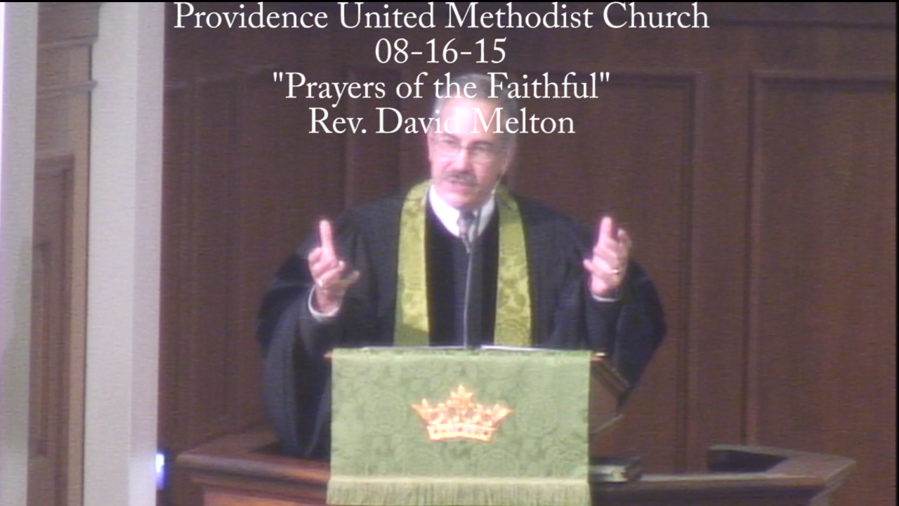 "Traditional Sermon ""Prayers of the Faithful"""